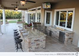 ideas for outdoor kitchen amazing outdoor kitchen ideas for enjoyable cooking