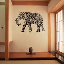 religious decorations for home india religious sacred elephant vinyl wall stickers home decor
