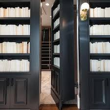 Carlyle Large Bookcase Black Bookcase Design Ideas