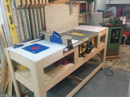 table saw station plans beautiful table saw bench plans table saw station bench ideas