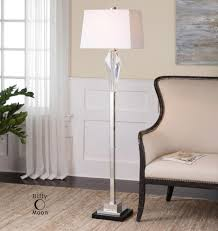 Uttermost Floor Lamps Altavilla Cut Crystal Floor Lamp 9lwah Annapolis Lighting