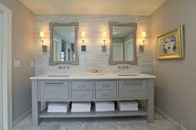 bathroom floating vanity by lowes bathrooms with chrome faucet
