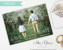 save the date designs wedding save the dates etsy