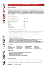 Delivery Driver Resume Examples by Entry Level Forklift Driver Resume Template Supper Nanny
