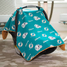 Carseat Canopy For Boy by Miami Dolphins Baby Gear Infant Carseat Canopy Cover Nfl