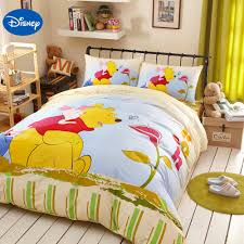 Classic Winnie The Pooh Nursery Decor Bedding Yellow Disney Winnie The Pooh Bedding Set For