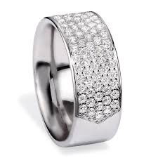 platinum pave rings images Men 39 s platinum and pave diamond band 268 jpg