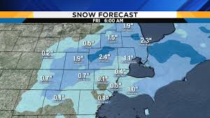 Snow Forecast Map Metro Detroit Weather How Much Snow Should We Expect Overnight