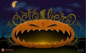 free halloween vector background halloween wallpaper for desktop wallpapersafari