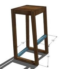 Woodworking Stool Plans For Free by Simplest Stool Make The Legs Any Size You Need For The Space