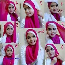 tutorial jilbab segi 4 untuk kebaya model tutorial lengkap cara memakai jilbab segi empat untuk kebaya