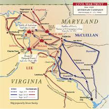 map of maryland maryland caign 1862 civil war trust