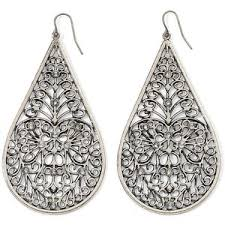 silver teardrop earrings silver teardrop earrings decree polyvore