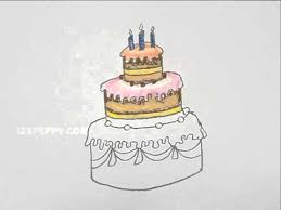 Wedding Cake Simple Drawn Wedding Cake Simple Pencil And In Color Drawn Wedding Cake
