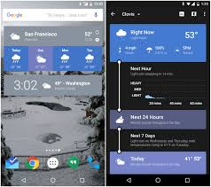 best android weather widget the best android weather apps greenbot
