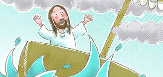 Fruit Of The Spirit Crafts For Kids - sunday lesson jesus calms the storm on the sea of galilee