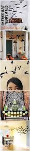 Hanging Bats Halloween Decor by Free Bat Templates And Halloween Decor Ideas Ella Claire