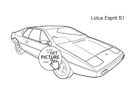 super car lotus esprit s1 coloring page for kids printable free