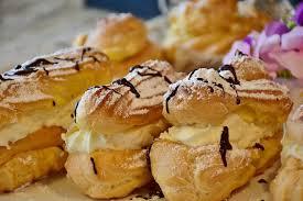 cuisine choux eclairs บ สก ต แป ง choux ภาพฟร บน pixabay