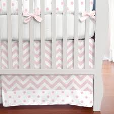 chevron and polka dot crib bedding ktactical decoration
