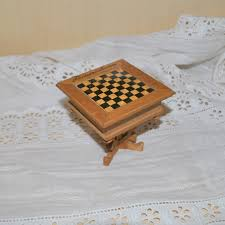 chess table or games board germany 1910 from luisa27 on ruby lane