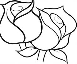 rose coloring pages cartoonrocks throughout coloring pages of