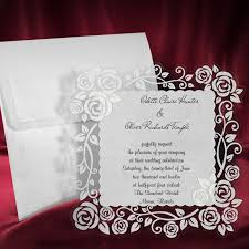Invitation Cards Handmade - lace wedding invitation card personalized handmade invite