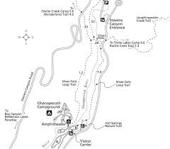springs washington map silver falls trail mount rainier washington hikespeak com