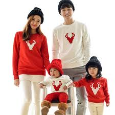 3xl deer sweatshirts casual family clothing