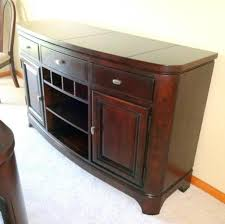 legacy classic dining room buffet sideboard wine bottle storage