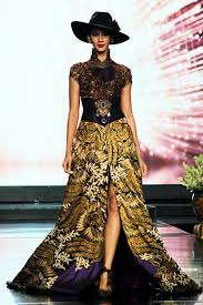 wedding dress batik batik bridal from avantie matahati collection voguemagz