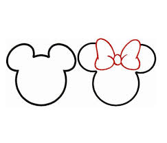 minnie mickey applique design perfectly templates