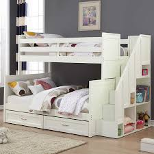 Staircase Bunk Beds Twin Over Full by Jordan Twin Over Full Staircase Bunk Bed