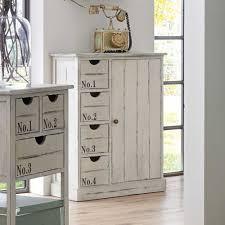 Wohnzimmerschrank Um 1960 Massivholz Kommode Im Shabby Chic Style Weiß Jetzt Bestellen Unter