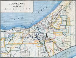 New York Central Railroad Map by Railroads Of Northern Ohio