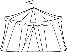 circus tent coloring page free coloring pages on art coloring pages