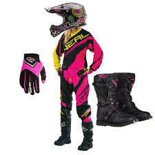 womens motocross gear packages oneal 2016 womens element race jersey pants gloves rider boots 3