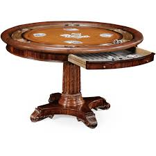 mahogany poker table by jonathan charles 493366 mah americana
