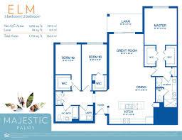 floor plans elm majestic palms condominiums elm floor plan