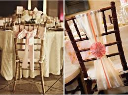 wedding chair bows wedding trends bow big or bow home the magazine