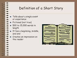 short story powerpoint