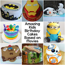 10 amazing kids birthday cakes based on movies 10 kid and