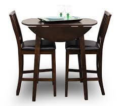 Drop Leaf Bistro Table Mahogany Drop Leaf Pub Table Sets With Top Plus Two