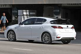 lexus ct f sport review scoop spindle grille 2014 lexus ct 200h f sport without camo