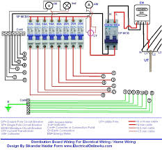 double pole circuit breaker wiring diagram double pole fuse wiring