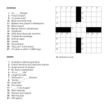 the cruciverbalist u0027s first constructed crossword puzzle veronica