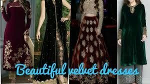 beautiful velvet suit design very beautiful velvet dresses ideas
