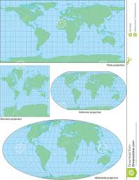 What Is A Map Projection What Is A Vector Vector World Map Projection Free Vectors
