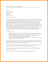 7 formal letter to principal science resume
