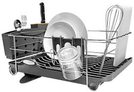 modern kitchen utensil holder kitchen accessories stainless steel dish rack and utensil holder